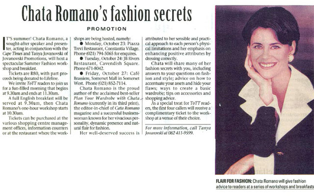 Chata-Romano's-Fashion-Secrets-Cape-Times-Newspaper