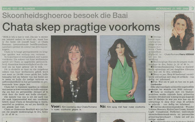 Chata-gives-practical-advice-Die-Burger-(Afrikaans-article)
