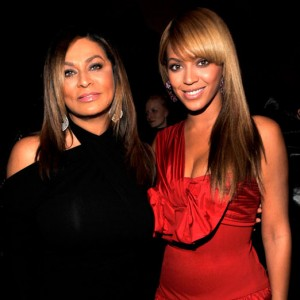 TINA KNOWLES AND BEYONCÉ KNOWLES